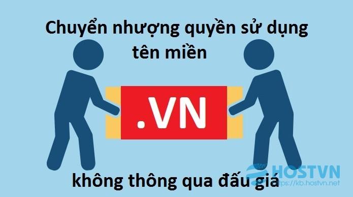 Chuyển nhượng tên miền Việt Nam