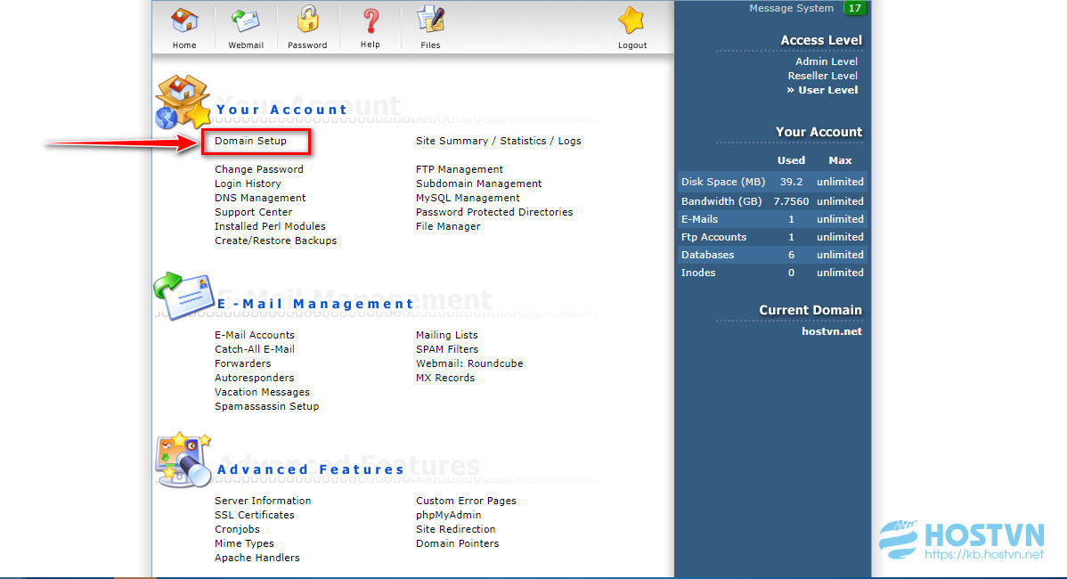 Hướng dẫn cài đặt chứng chỉ số (SSL) trên Hosting sử dụng